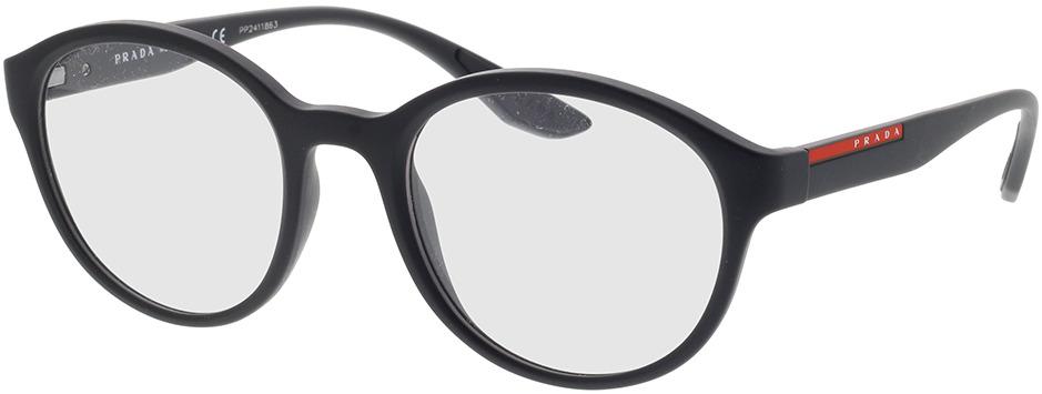 Picture of glasses model Prada Linea Rossa PS 01NV DG01O1 52-21 in angle 330