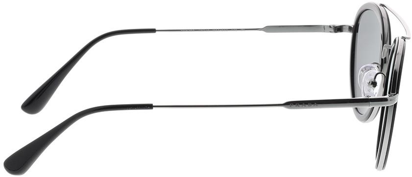 Picture of glasses model Prada PR 56XS M4Y5S0 49-24 in angle 90