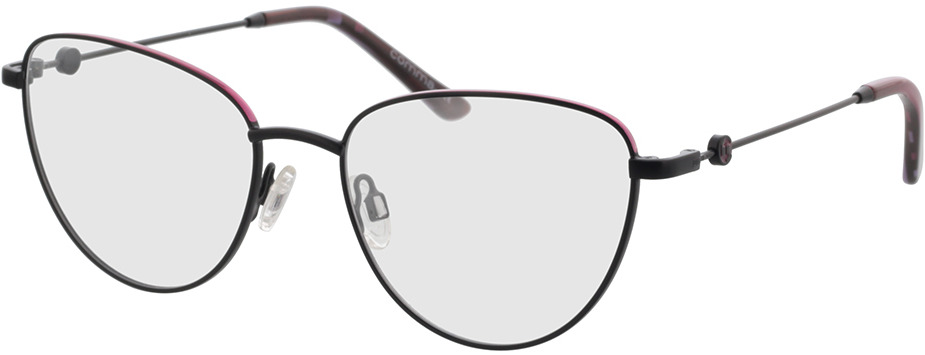 Picture of glasses model Comma, 70115 37 rosegold 52-17 in angle 330