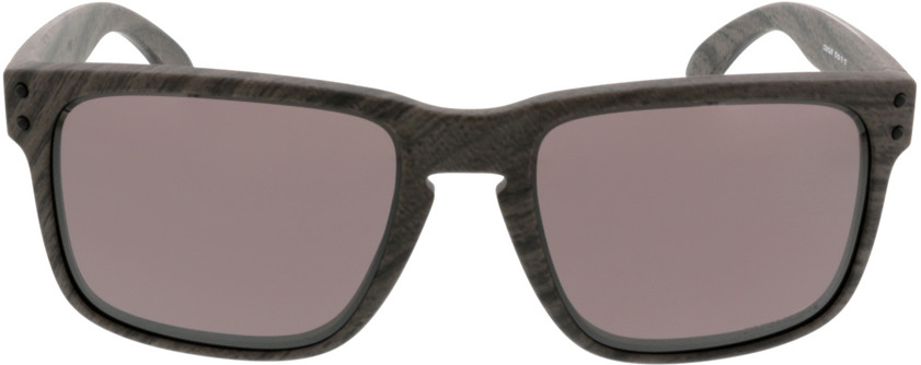 Picture of glasses model Oakley Holbrook OO9102 B7 55-18 in angle 0