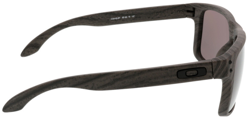 Picture of glasses model Oakley Holbrook OO9102 B7 55-18 in angle 90