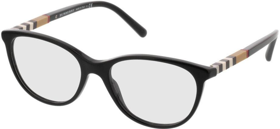 Picture of glasses model Burberry BE2205 3001 52-17 in angle 330