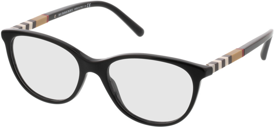 Picture of glasses model Burberry BE2205 3001 52 17 in angle 330