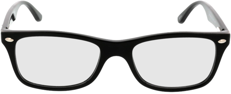 Picture of glasses model Ray-Ban RX5228 2000 50-17 in angle 0
