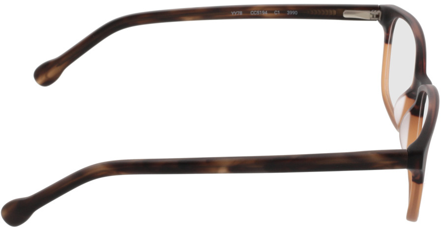 Picture of glasses model Trient-braun in angle 90