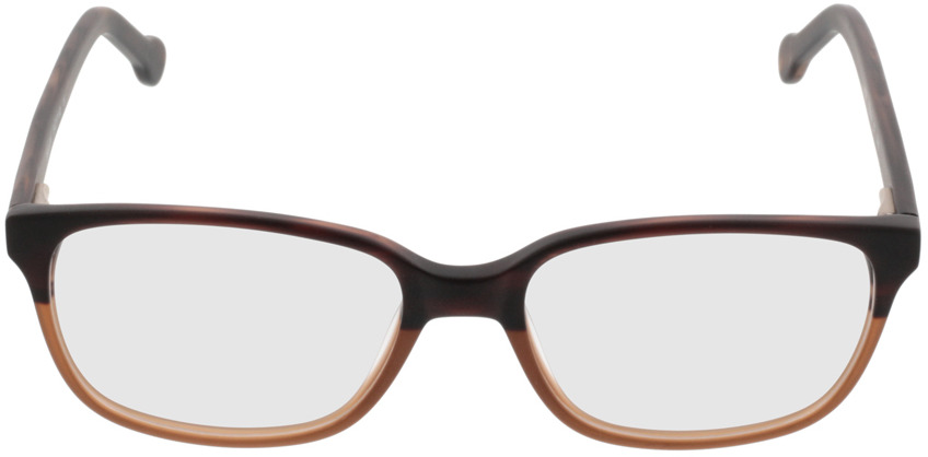 Picture of glasses model Trient-braun in angle 0