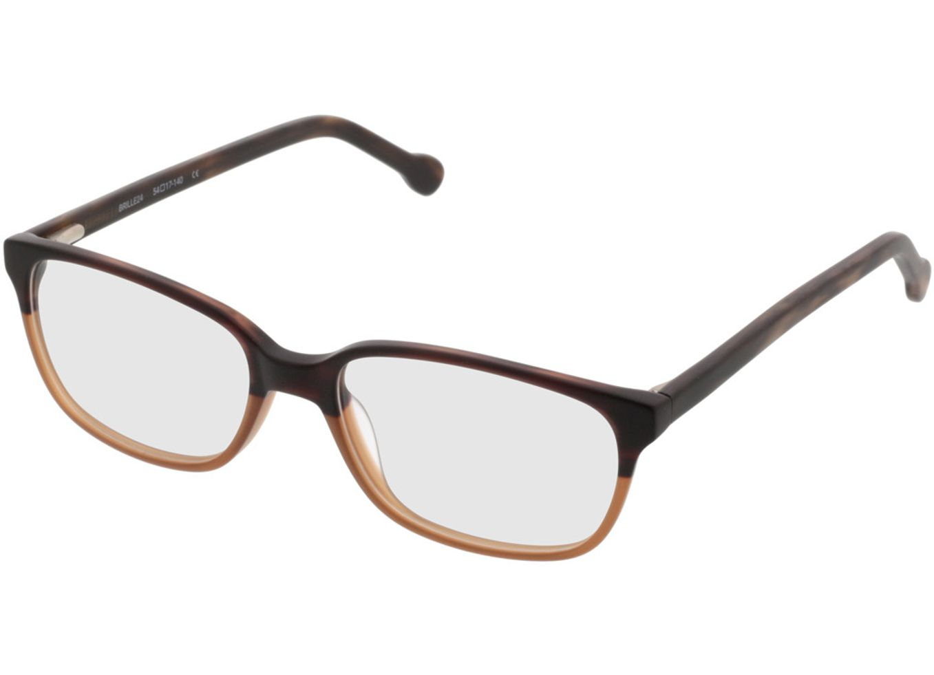 3990-singlevision-0000 Trient-braun Gleitsichtbrille, Vollrand Brille24 Collection