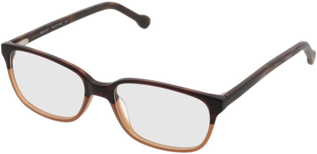 Picture of glasses model Trient-braun in angle 330