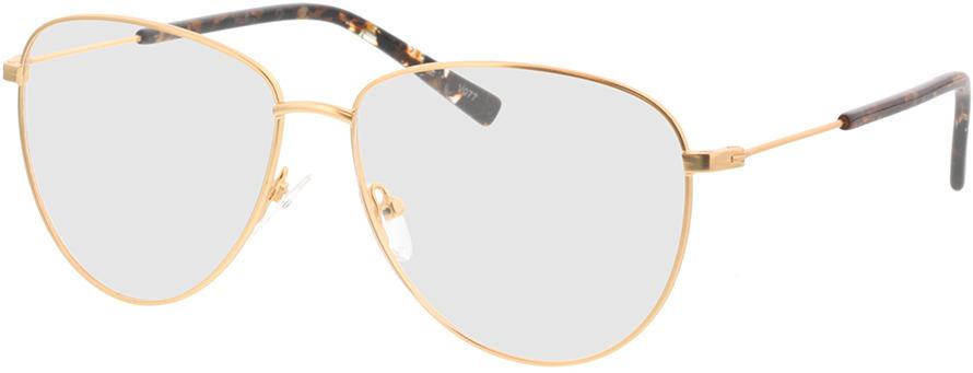 Picture of glasses model Riley-matt gold in angle 330