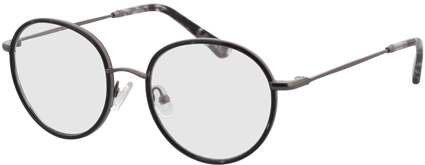 Picture of glasses model Moody-anthrazit/grau-meliert in angle 330