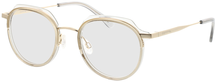 Picture of glasses model Comma, 70078 61 brown 48-19 in angle 330