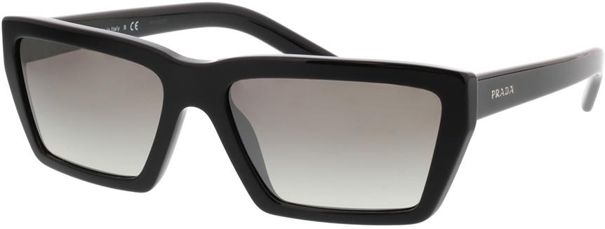 Picture of glasses model Prada PR 04VS 1AB5O0 57-17 in angle 330