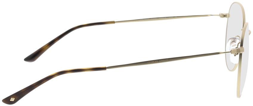 Picture of glasses model Giorgio Armani AR5057 3002 49-19 in angle 90