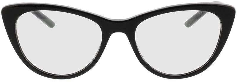 Picture of glasses model Prada PR 05XV 1AB1O1 53-18 in angle 0