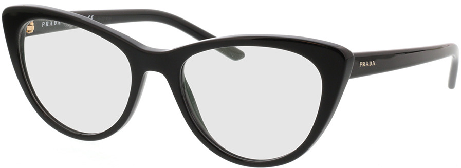 Picture of glasses model Prada PR 05XV 1AB1O1 53-18 in angle 330