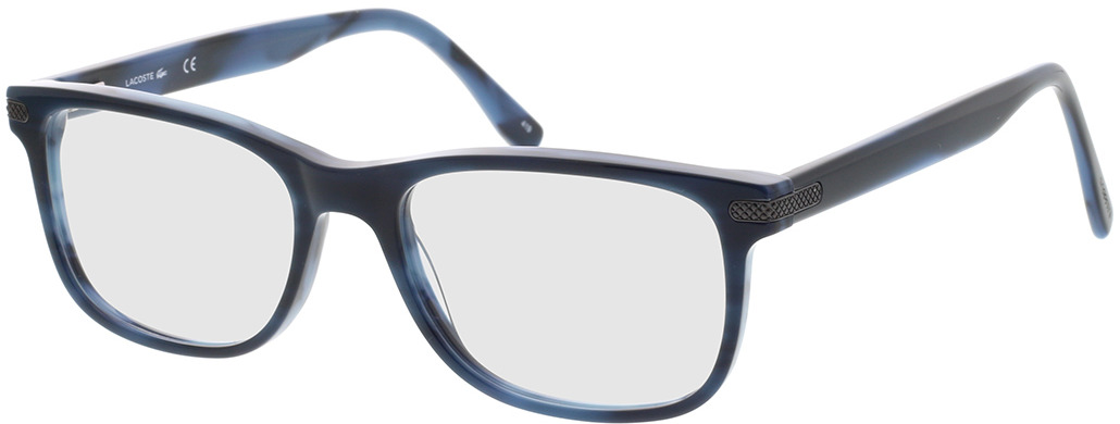 Picture of glasses model Lacoste L2841 424 55-18 in angle 330