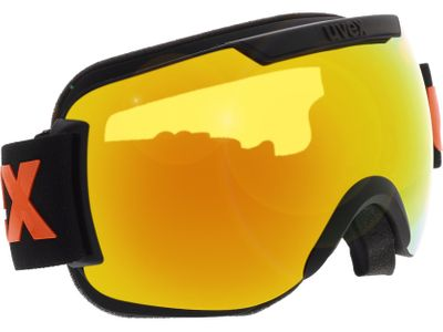 Brille Uvex Skibrille Downhill 2000 CV Black Matt/Mirror Orange