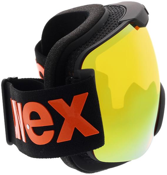 Picture of glasses model Uvex Skibrille Downhill 2000 CV Black Matt/Mirror Orange in angle 90