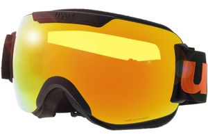 Skibrille Downhill 2000 CV Black Matt/Mirror Orange