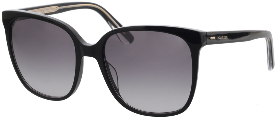 Picture of glasses model Calvin Klein CK21707S 001 57-18 in angle 330