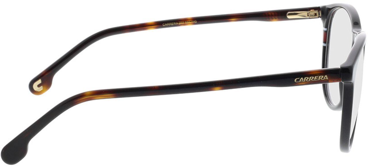 Picture of glasses model Carrera CARRERA 214 581 51-18 in angle 90
