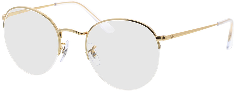 Picture of glasses model Ray-Ban RX3947V 3086 51-22 in angle 330