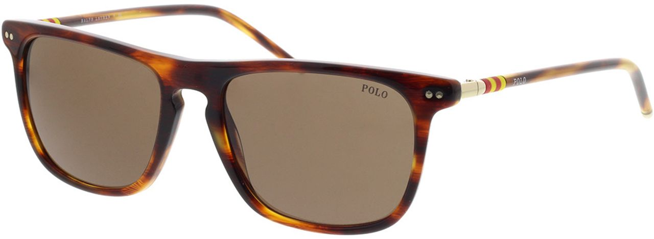 Picture of glasses model Polo Ralph Lauren PH4168 500773 53-17 in angle 330
