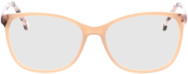 Picture of glasses model Nowra-apricot/rosa-marbré in angle 0