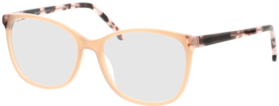 Picture of glasses model Nowra-apricot/rosa-marbré in angle 330