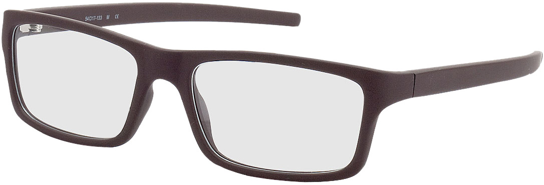 Picture of glasses model Nador brown in angle 330