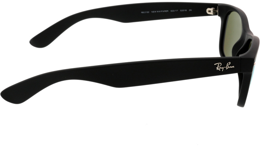 Picture of glasses model Ray-Ban New Wayfarer RB2132 622/17 52-18 in angle 90