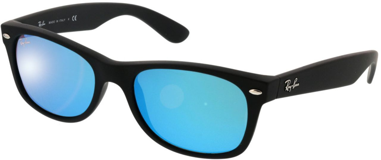 Picture of glasses model Ray-Ban New Wayfarer RB2132 622/17 52-18 in angle 330