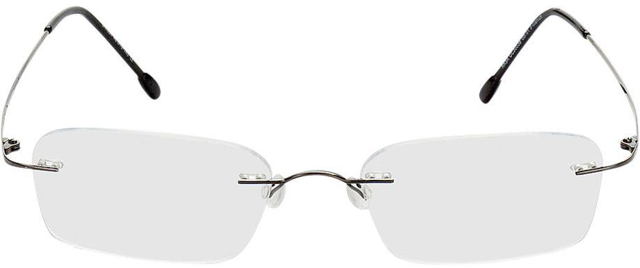 Picture of glasses model Davos gun in angle 0