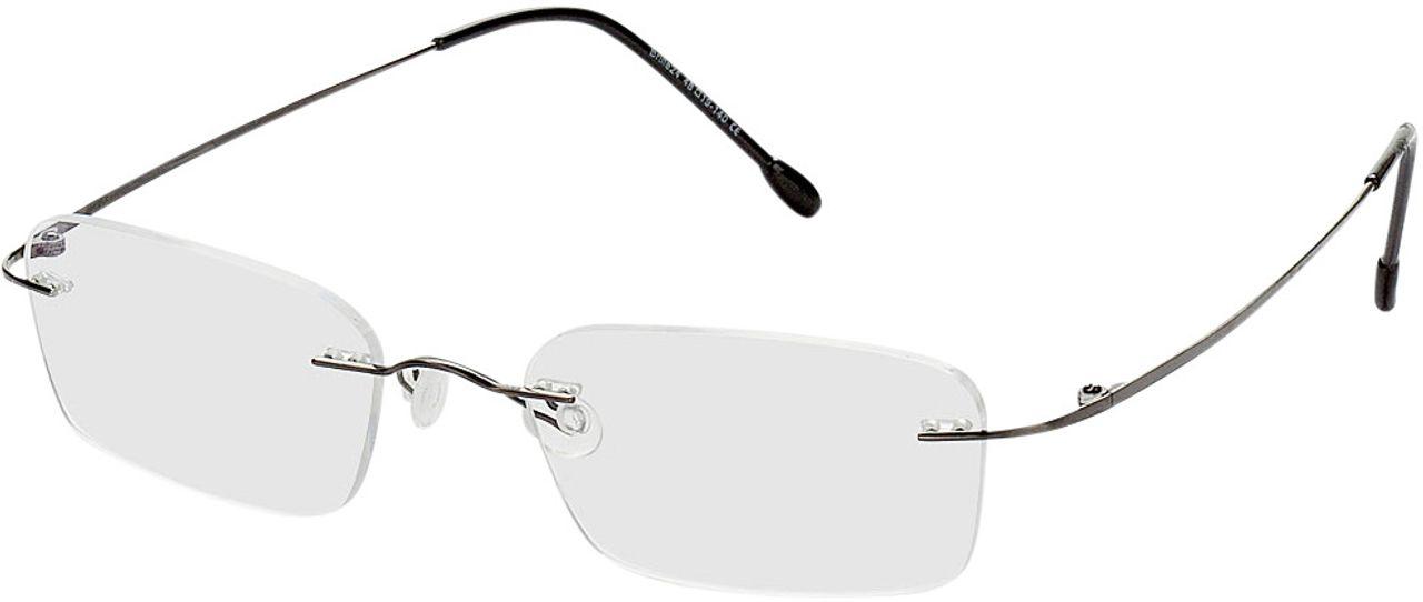 Picture of glasses model Davos gun in angle 330