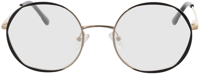 Picture of glasses model Selma-gold/schwarz in angle 0