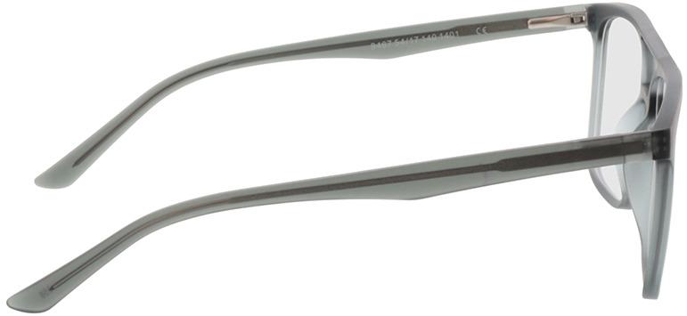 Picture of glasses model Glarus-cinzento claro /preto in angle 90