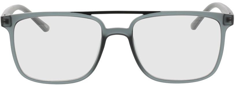 Picture of glasses model Glarus-cinzento claro /preto in angle 0