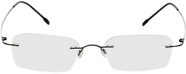Picture of glasses model Davos-black in angle 0