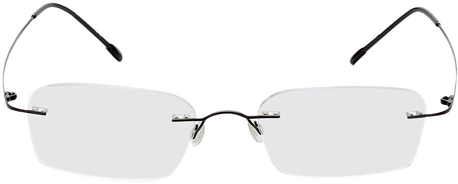 Picture of glasses model Davos black in angle 0