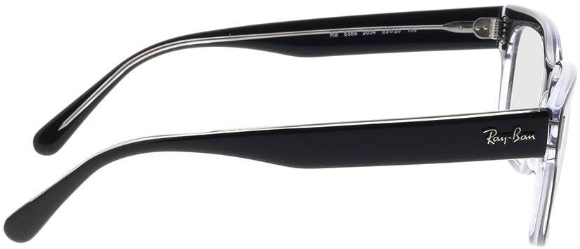 Picture of glasses model Ray-Ban RX5388 2034 53-20 in angle 90