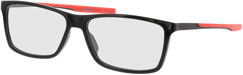 Picture of glasses model Puma PU0235O-001 57-15 in angle 330