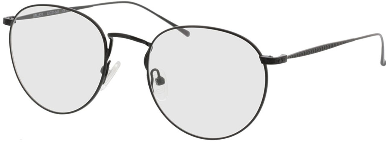 Picture of glasses model Macon-schwarz in angle 330