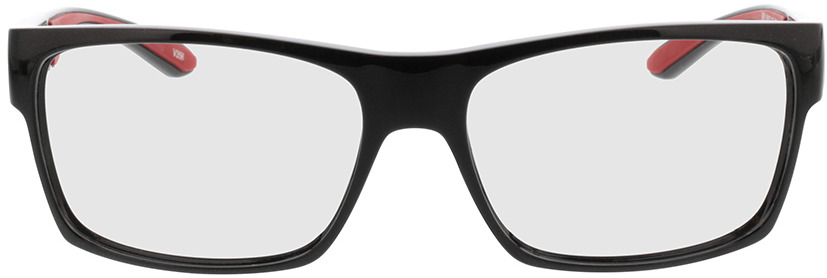 Picture of glasses model Blaze-schwarz/rot in angle 0