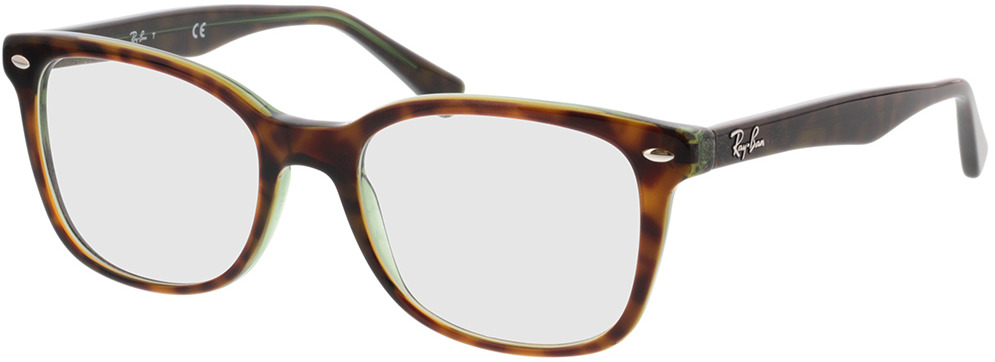 Picture of glasses model Ray-Ban RX5285 2383 53-19 in angle 330