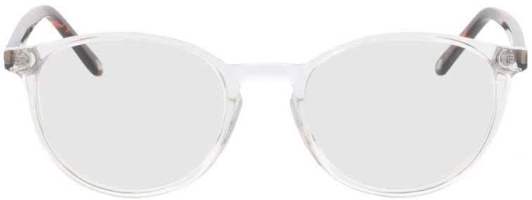 Picture of glasses model Siro-transparent/braun-meliert in angle 0