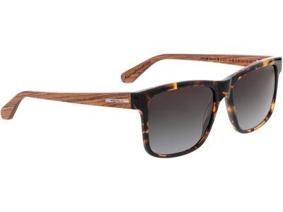 Brille Wood Fellas Sunglasses Blumenberg zebrano/havana 56-17