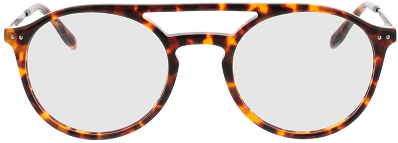 Picture of glasses model Vito-braun-meliert/schwarz in angle 0
