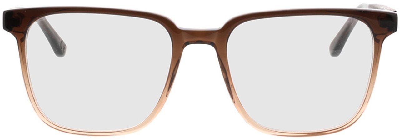 Picture of glasses model TAKE A SHOT Lenus Espresso Gradient RX: Schwarzes Eichenholz 54-19 in angle 0