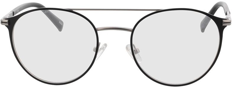 Picture of glasses model Tyler-matt silber/matt schwarz in angle 0