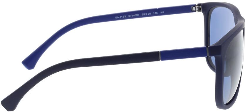Picture of glasses model Emporio Armani EA4133 575480 59-20 in angle 90